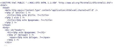 non lispy php code