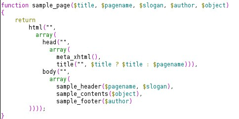lispy code body