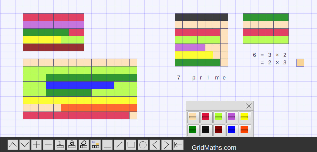 math worksheet : cuisenaire rods for counting  gridmaths  quantblog : Cuisenaire Rods Fractions Worksheets